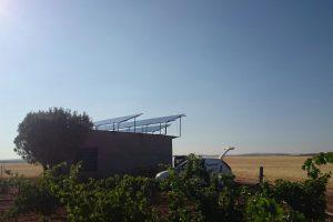 Instalacion Bombeo Solar. Quero_03