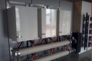 Caldera de gas por condensación para clínica fisio en Ciudad Real