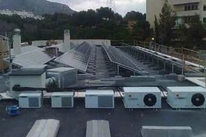Fotovoltaica Montealto 100 kw Colegio St George (Málaga)