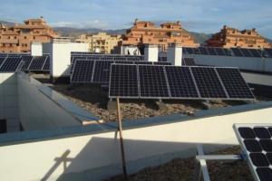 Fotovoltaica Montealto 100 kw Colegio St George (Roquetas de Mar)