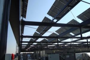 Fotovoltaica Montealto 50 kw Colegio Registradores (Madrid)