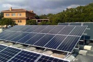 Fotovoltaica Montealto 80 kw Colegio St George (Valencia)