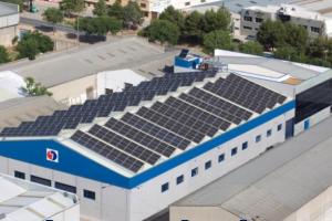 Fotovoltaica sobre tejado Grupo Mersa - Tomelloso (Ciudad Real) 100KW