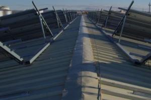Fotovoltaica sobre tejado Hasi Ibérica - Algete (Madrid) 200KW