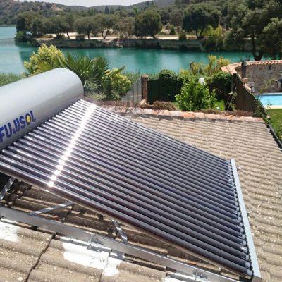 Instalación Energía Solar Térmica Lagunas de Ruidera 01