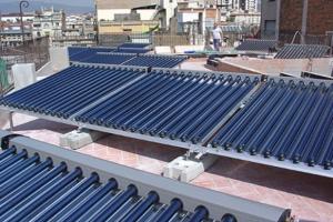 Instalación de Energía Solar Térmica 120 viviendas Sevilla La Nueva