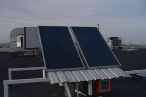 Instalación de Energía Solar Térmica Brico Depot Alquerías (Murcia)