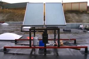Instalación de Energía Solar Térmica Brico Depot Huercal de Almería