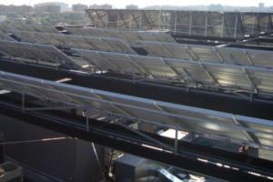 Instalación de Energía Solar Térmica Colegio Registradores de Madrid