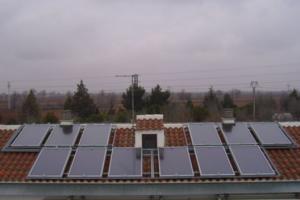 Instalación de Energía Solar Térmica Residencial La Vereda Argamasilla de Alba (Ciudad Real)